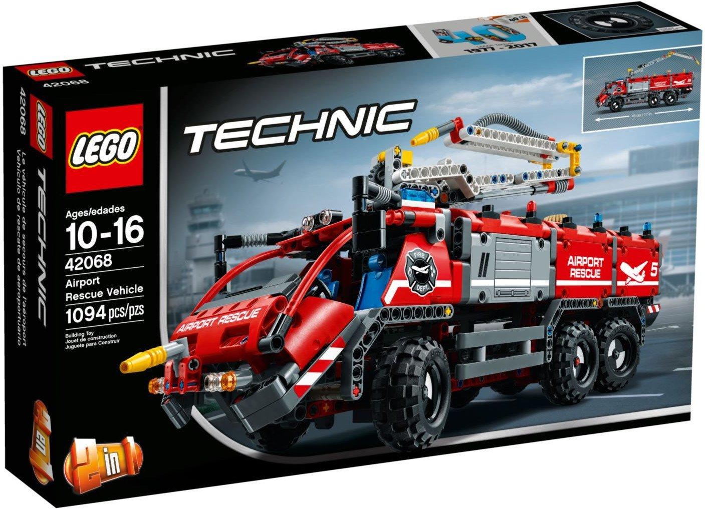 LEGO Technic Flughafen-Löschfahrzeug 42068 für 52€ [Real]