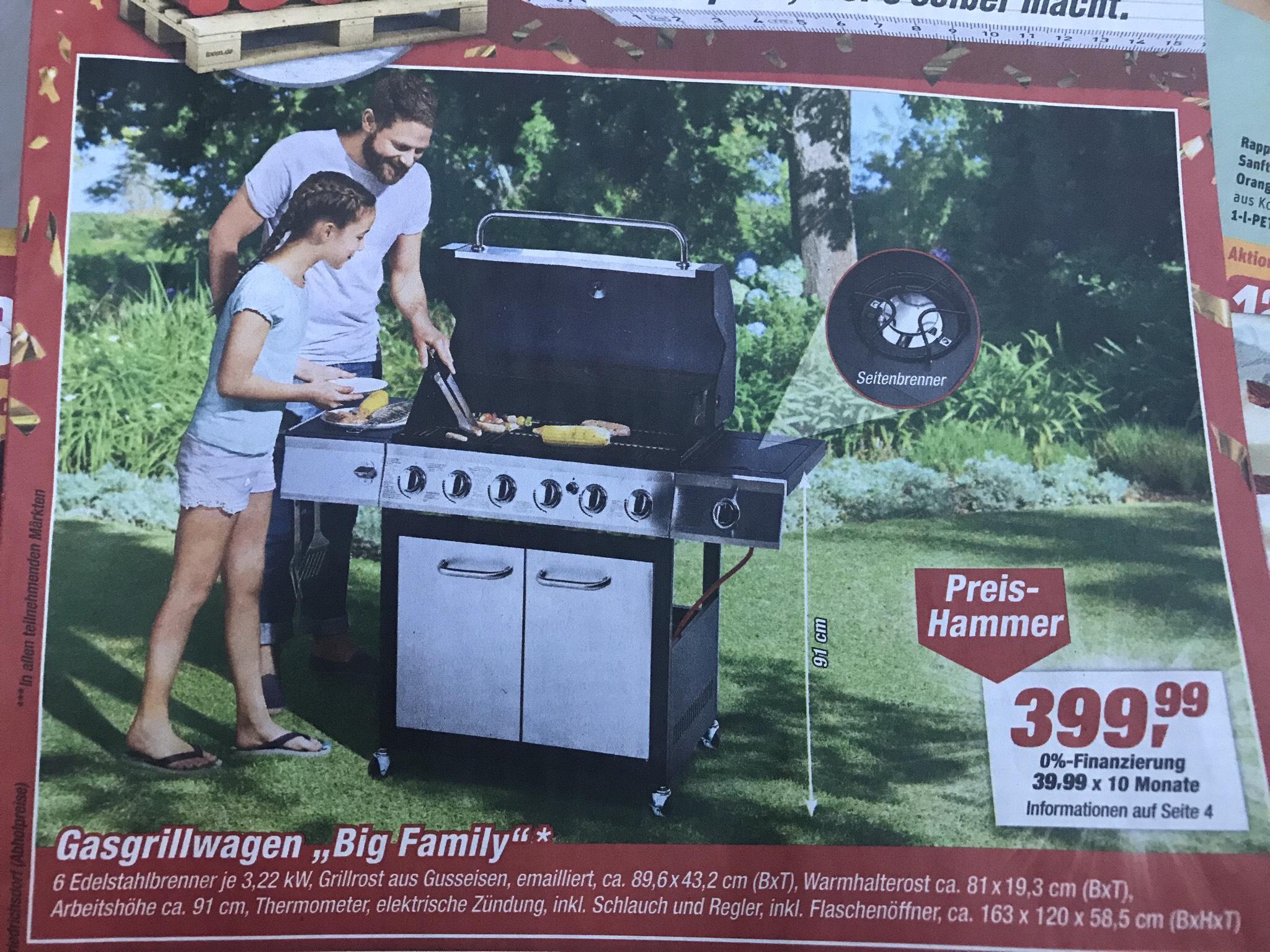 """[Penny] Gasgrillwagen """"Big Family"""""""
