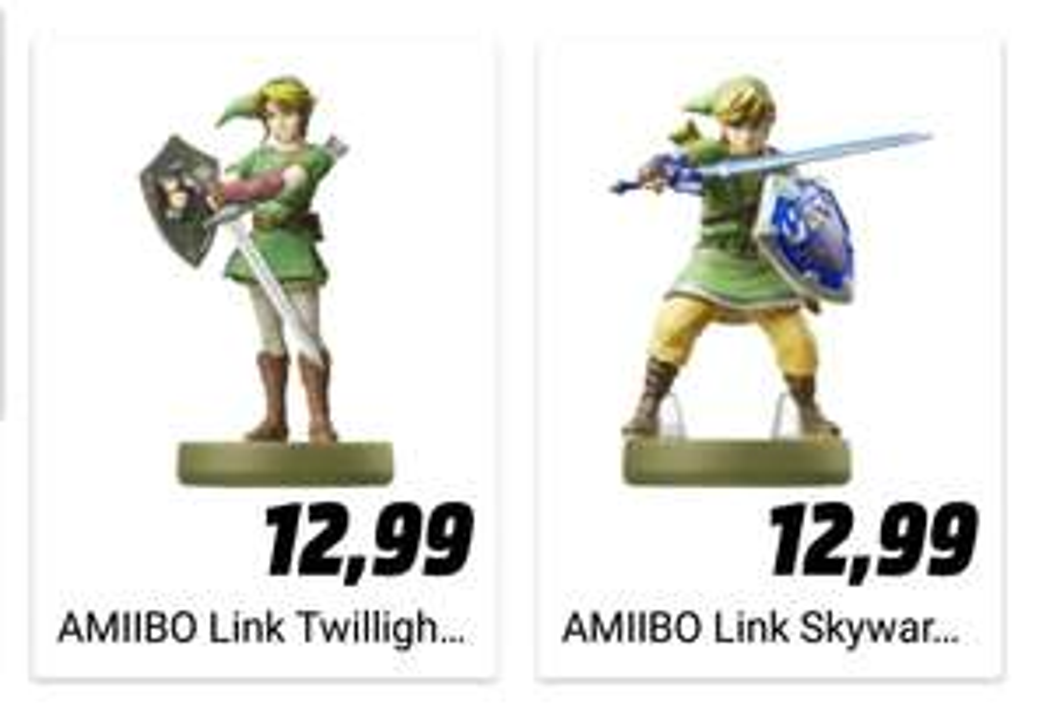 Amiibo Link Skyward Sword / Twilight Princess