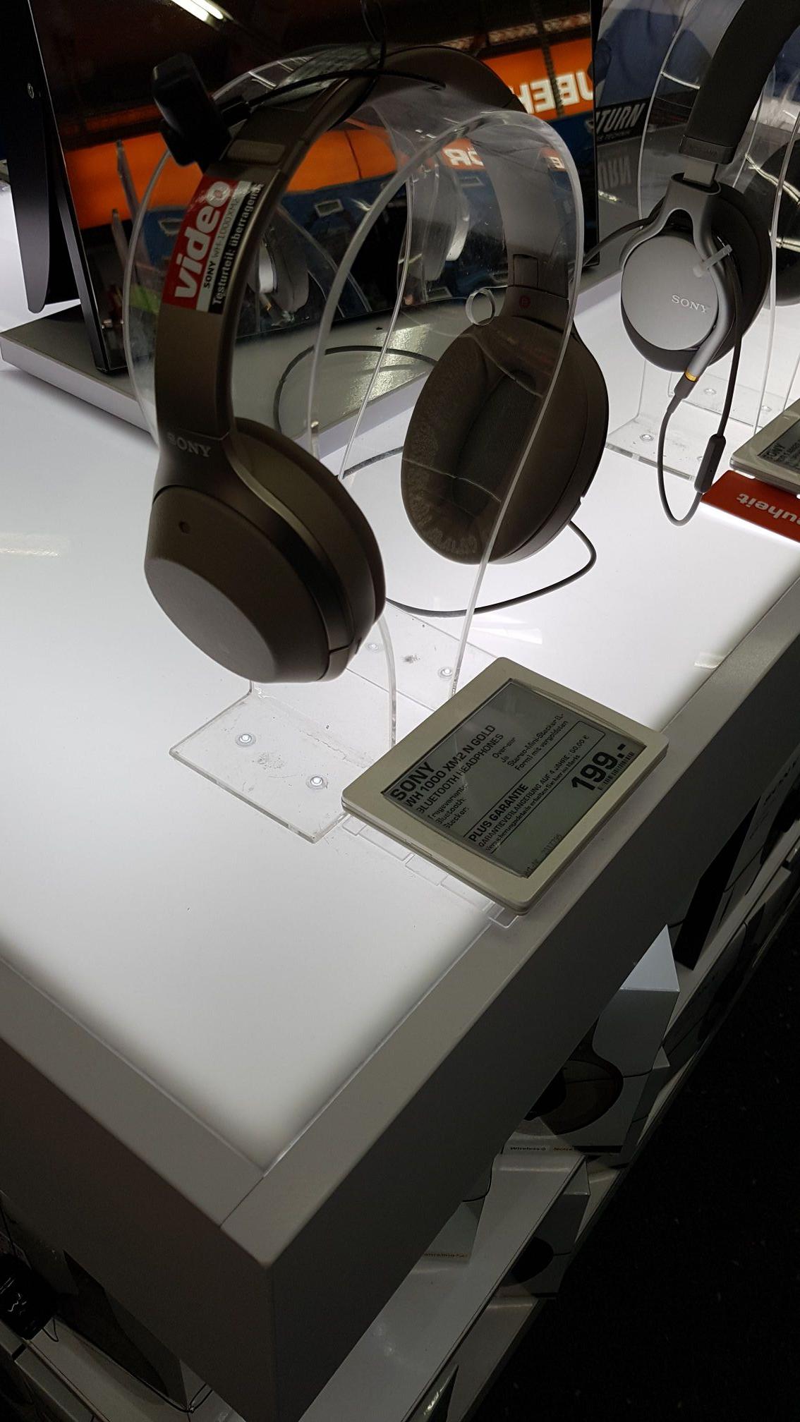 [SATURN] [LOKAL Köln] Sony WH-1000XM2 in schwarz und gold