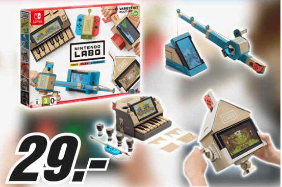 [Regional Mediamarkt Leipzig-Günthersdorf] Nintendo Labo Toy-Con 01 Multi-Set für die Switch für 29,-€