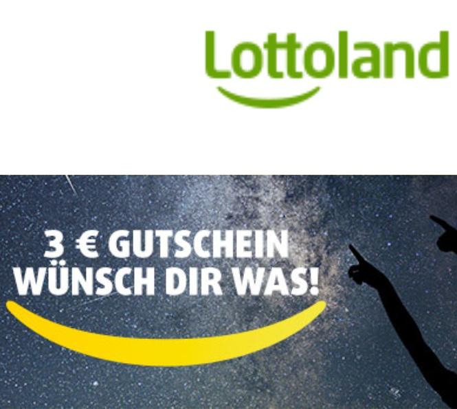 [Lottoland] 3€ Rabatt bei 6€ Mbw - (-50%) - auch Bestandskunden