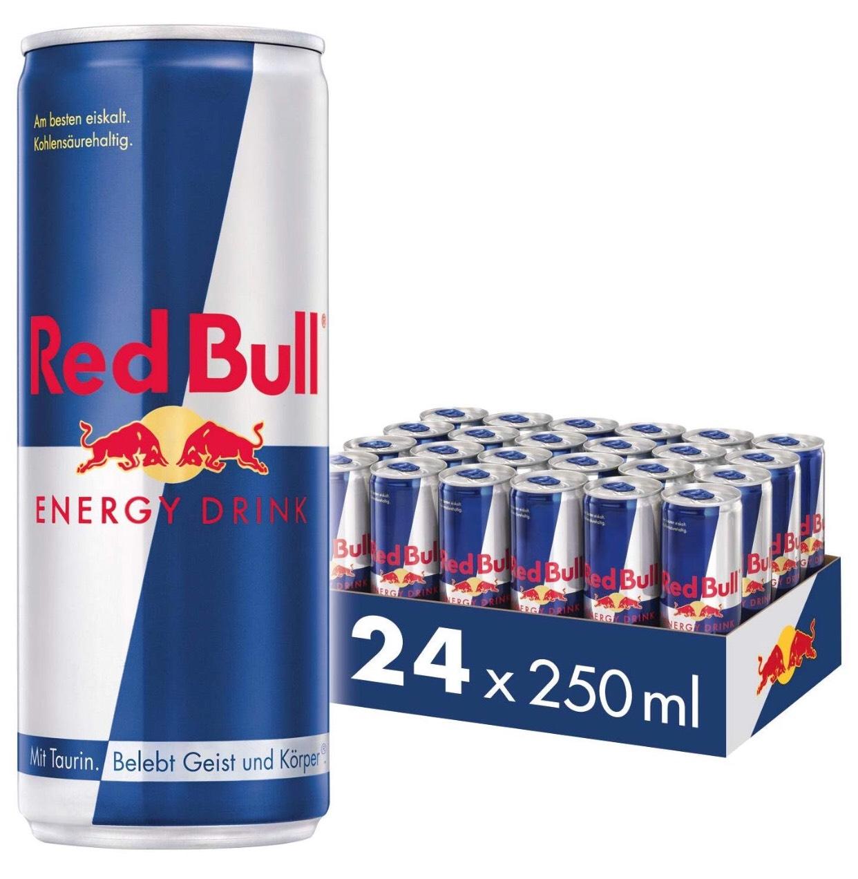 [Amazon Prime] Red Bull 24x 250ml 22,57€ Abo, sonst 23,76€ zzgl. 6€ Pfand
