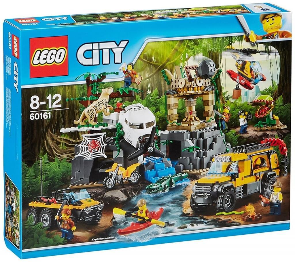 LEGO® - City, Dschungel-Forschungsstation; 60161