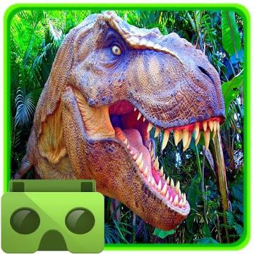 VR Time Machine Dinosaurierpark