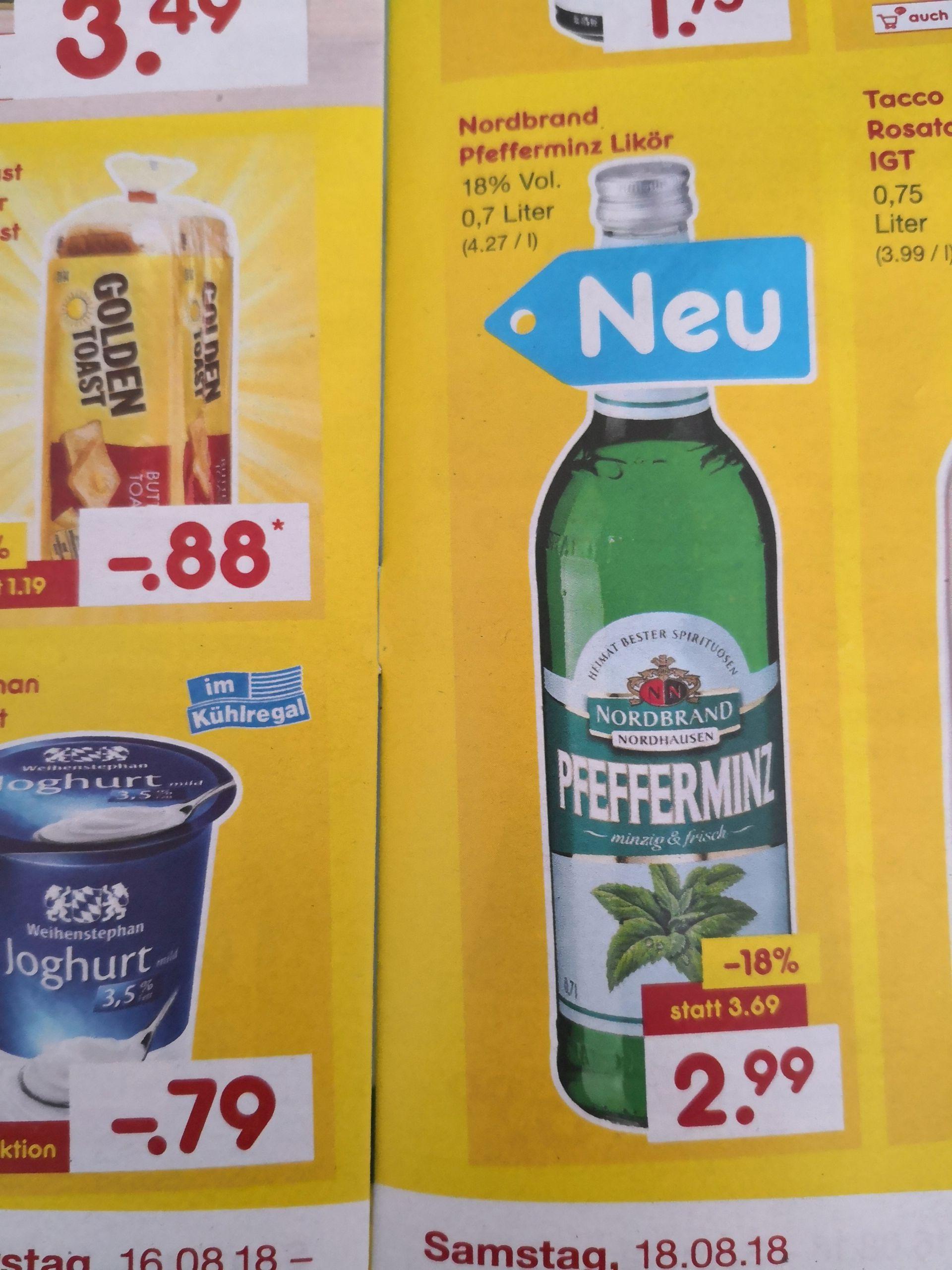 Netto MD AG & Co. KG - Pfeffi für 2.99