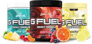 40% OFF auf GFUEL (Tubes, Packs, Shaker)