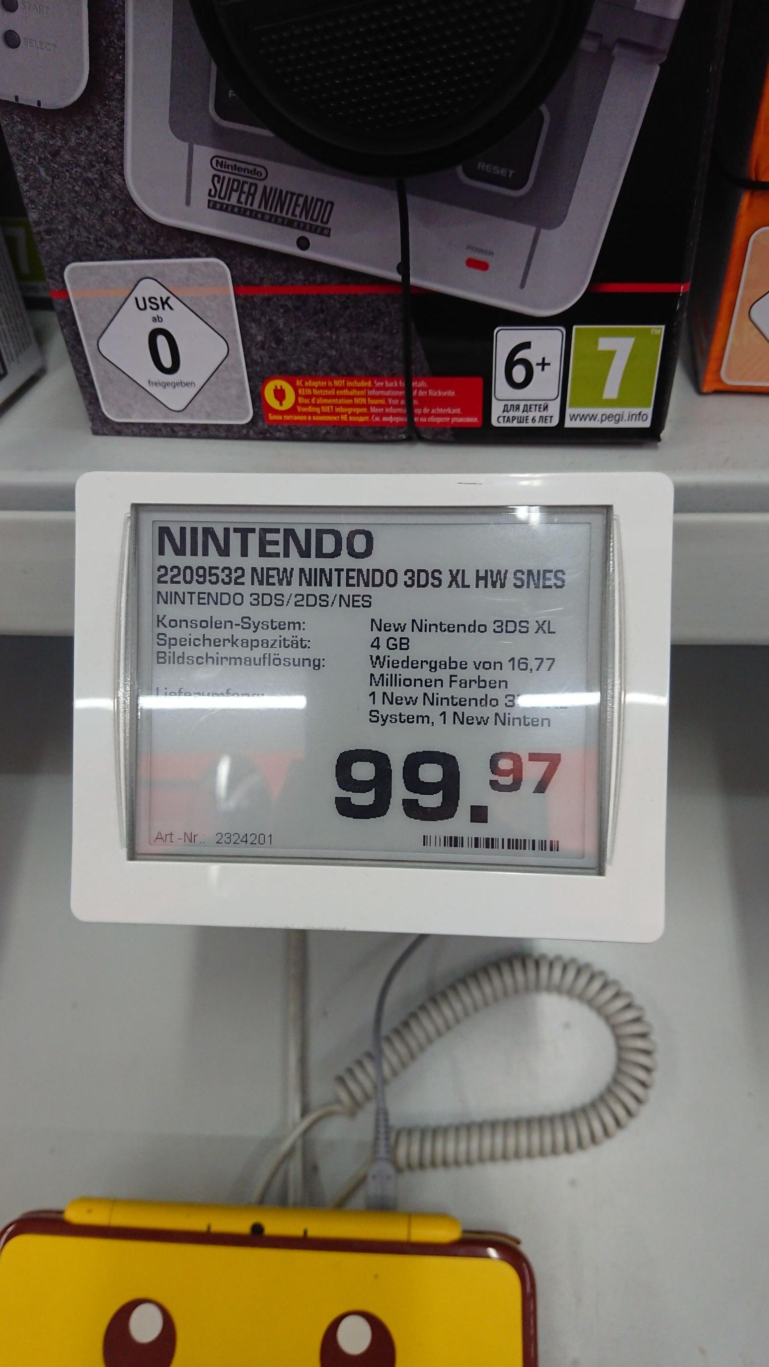 [Saturn Fürth] Nintendo New 3DS XL SNES