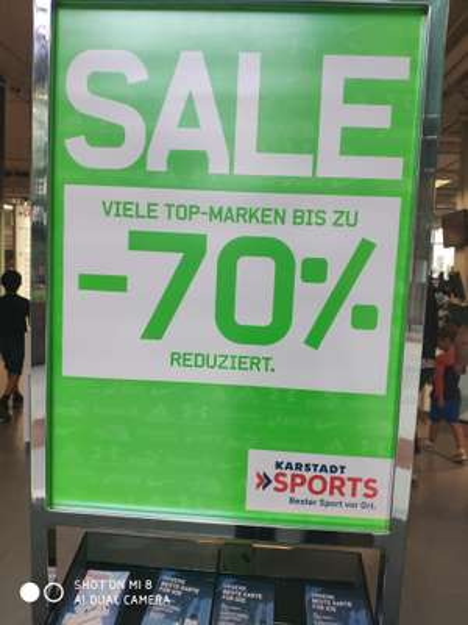 Bis zu 70% bei Karstadt Sports  (Nike, Adidas, Northface, Jack Wolfskin usw.)
