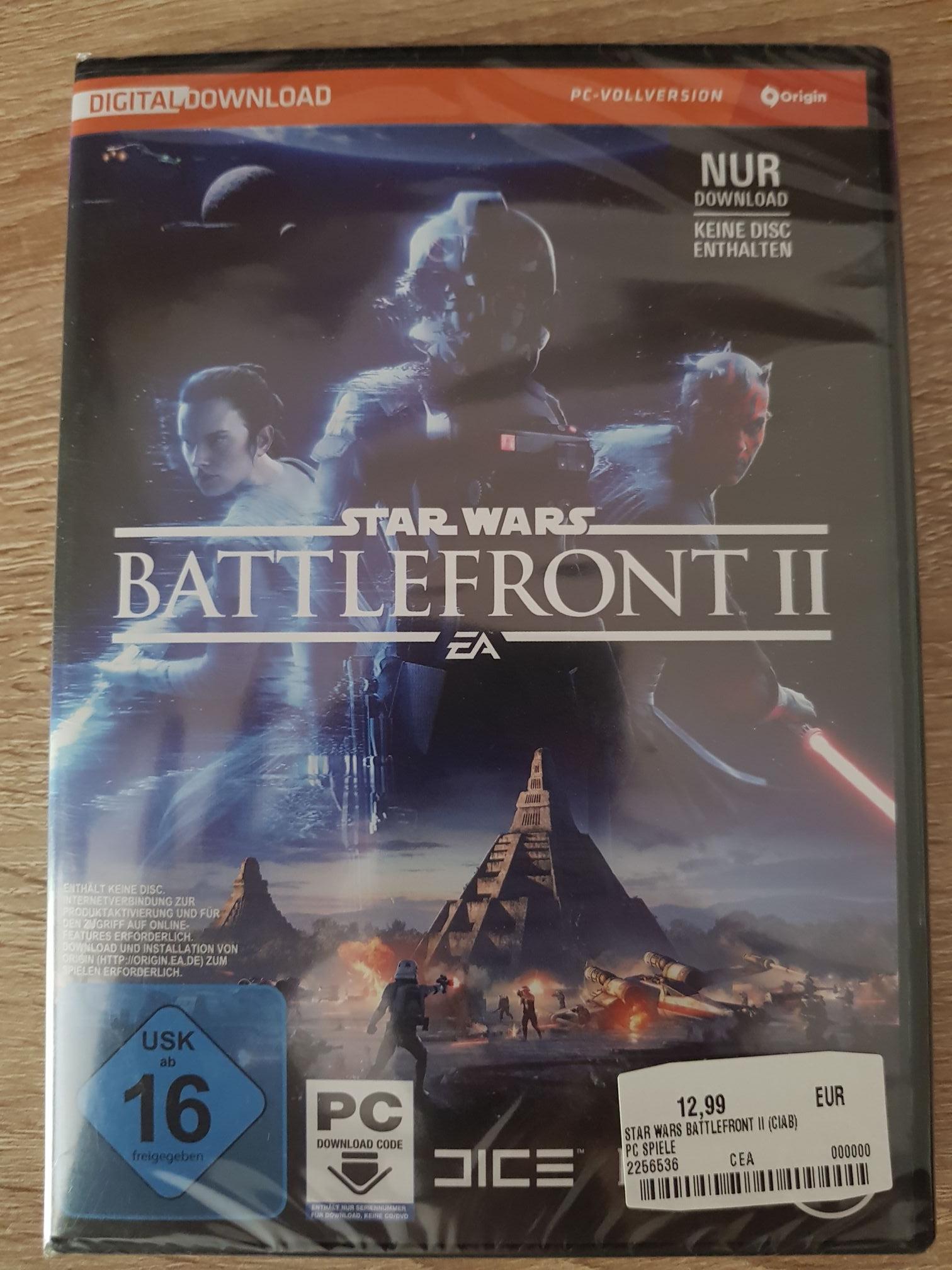 [LOKAL] Star Wars Battlefront 2 für 9,99 im Media Markt Viernheim