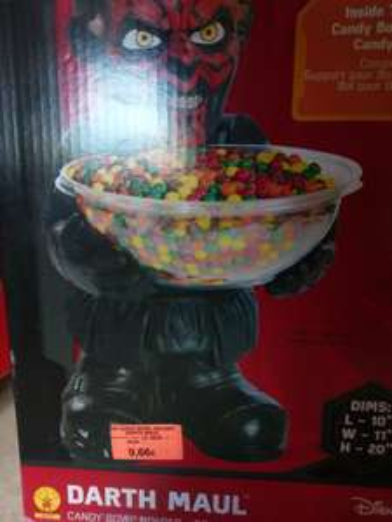 Darth Maul Süßigkeiten Halter Toy r us (Lokal)?