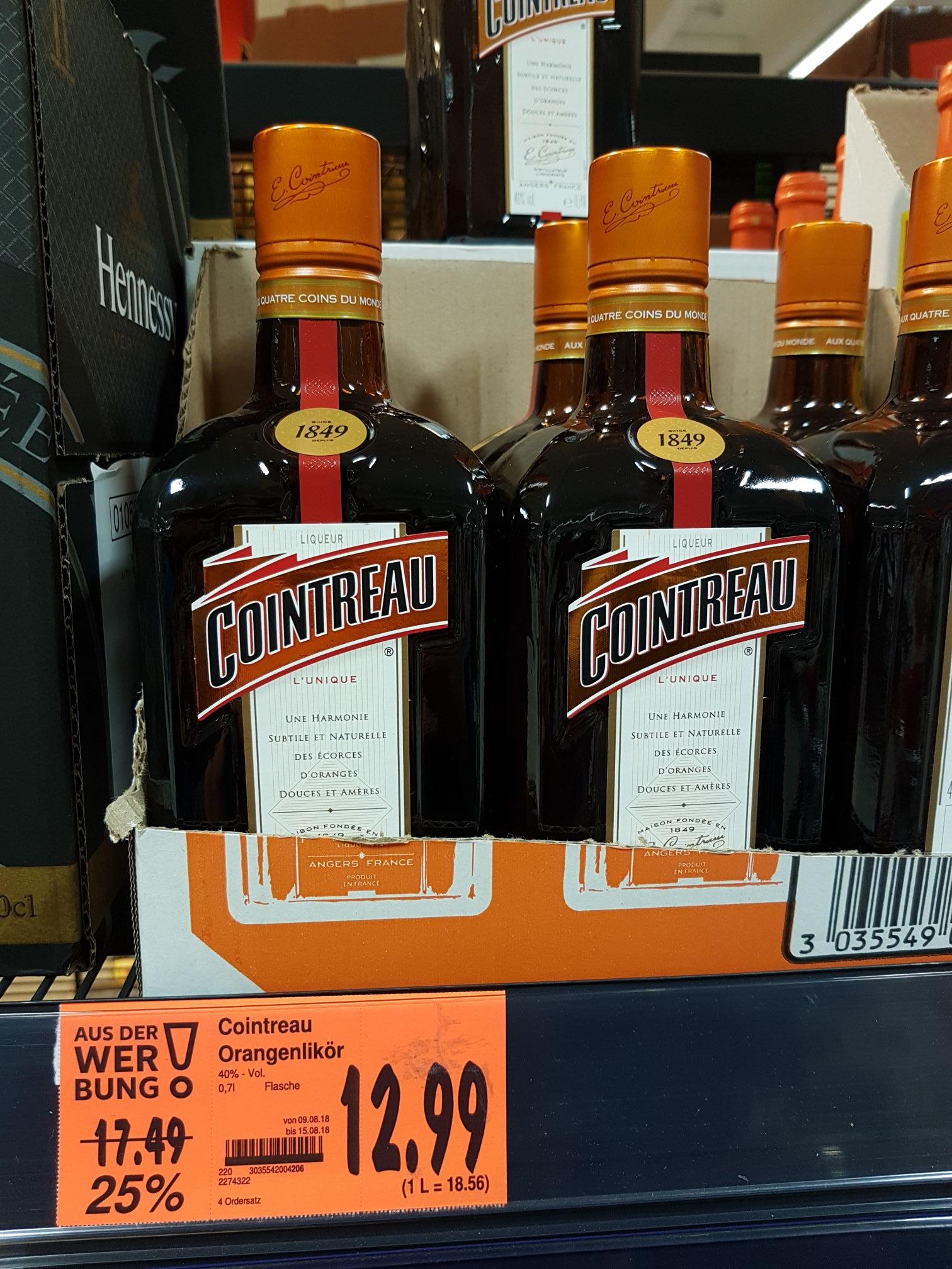 Cointreau Orangenlikör für 12.99 bei Kauflaund (Heide)