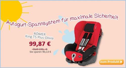 Römer King TS Plus Farbe Olivia (rot/schwarz) online @baby-markt.de