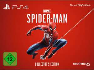 (Media Markt Masterpass) Spiderman Collectors Edition PS4 für 179.99€