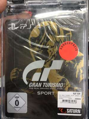 [Lokal] Gran Turismo Sport Steelbook Edition PS4 / Saturn Essen Limbecker Platz