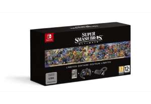 Super Smash Bros. Ultimate Limited Edition (Nintendo Switch) für nur 83,07€ mit Masterpass (Media Markt)