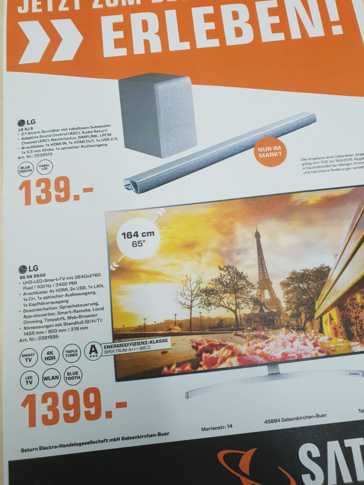 LG SUHD TV  +++65 SK 8500