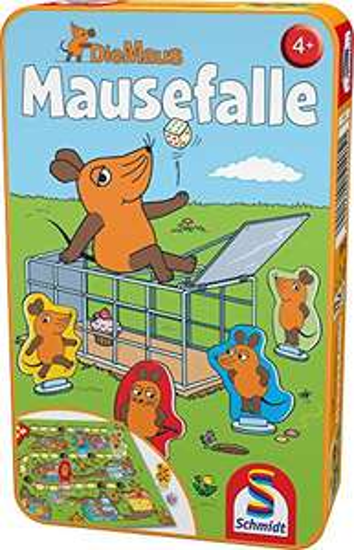 Mausefalle in Metalldose von Schmidt Spiele (Amazon PRIME)