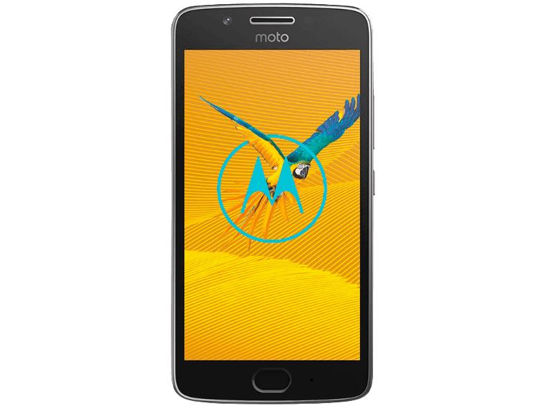 [Mediamarkt-Masterpass] MOTOROLA Moto G5, Smartphone, 16 GB, 5 Zoll, Lunar Grey, Dual SIM inc. Fußball für 89,-€