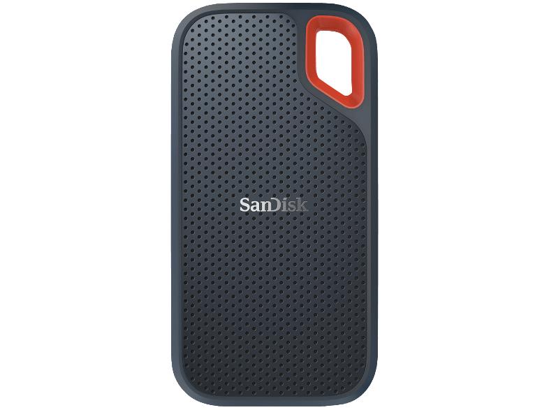 SANDISK Extreme® Portable, 500 GB SSD, extern, Grau bei Amazon