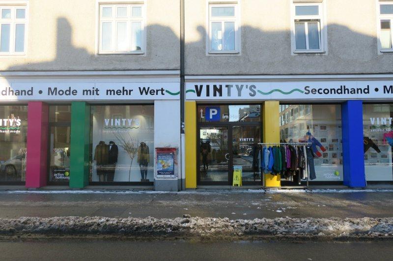 [ lokal München ] Räumungsverkauf @ Vintys Second-Hand Mode München - alles 70% rabattiert (wahrscheinlich auch Fairtrade-Lebensmittel)