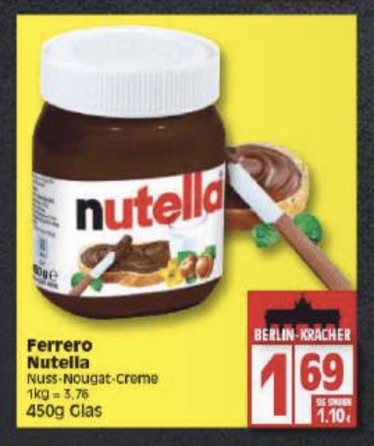 Nutella 450 Glas [DB Gutschein]