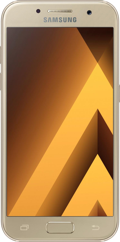 Samsung Galaxy A3 (2017) A320F in gold sand oder peach cloud für 159€ [0815.eu]