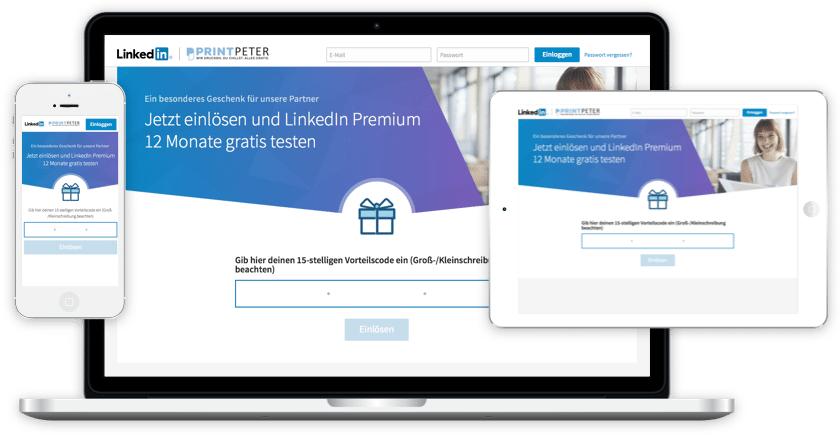 LinkedIn Premium 1 Jahr kostenlos und selbstkündigend (Studenten)