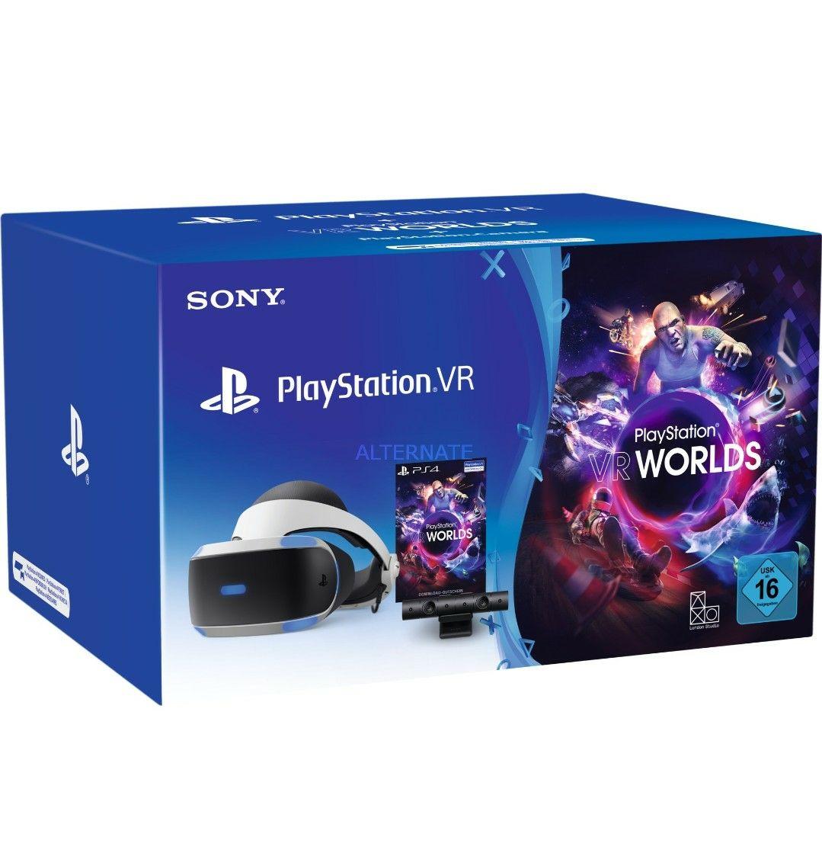 [Masterpass]PlayStation VR Bundle Version V2 mit Kamera und VR Worlds
