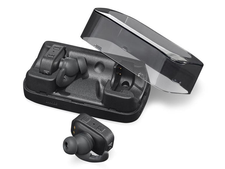 SILVERCREST® Bluetooth®-In-Ear-Sportkopfhörer Kabelloser Musikgenuss für volle Bewegungsfreiheit