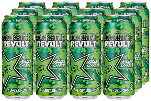 Rockstar Revolt Killer Citrus, 12er Pack (12 x 500 g)