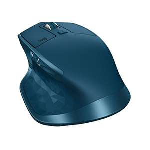 (Amazon & MediaMarkt) Logitech MX Master 2S (Midnight Teal) für € 59,- (Bluetooth, für Mac und Windows)