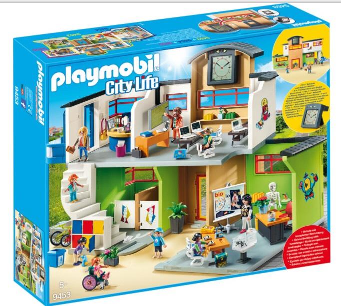 Playmobil große Schule City Life 9453