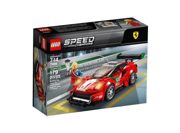 "[Saturn] Lego Ferrari 488 GT3 ""Scuderia Corsa"" (75886)"