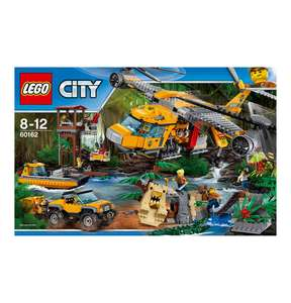 Lego City Dschungel-Versorgungshubschrauber (60162)