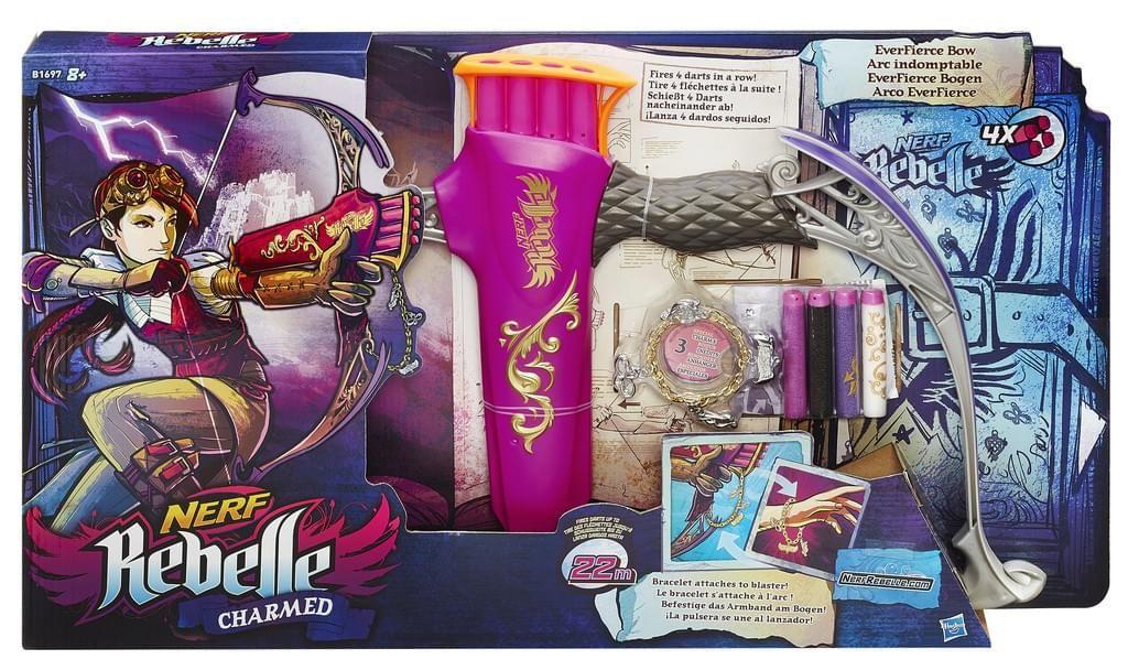 Nerf Rebelle Charmed EverFierce Bogen