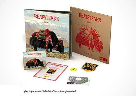 BEATSTEAKS Yours Du Bist Deluxe Vinyl + CD Box @amazon.de