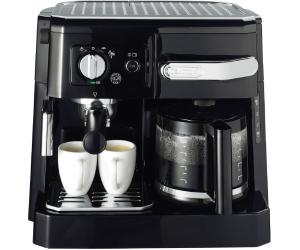 Kaffeetrinken mit comtech: z.B. Kombi-Espresso-Kaffeemaschine DeLonghi BCO 410.1 (Espresso, Cappuccino und Filterkaffee)