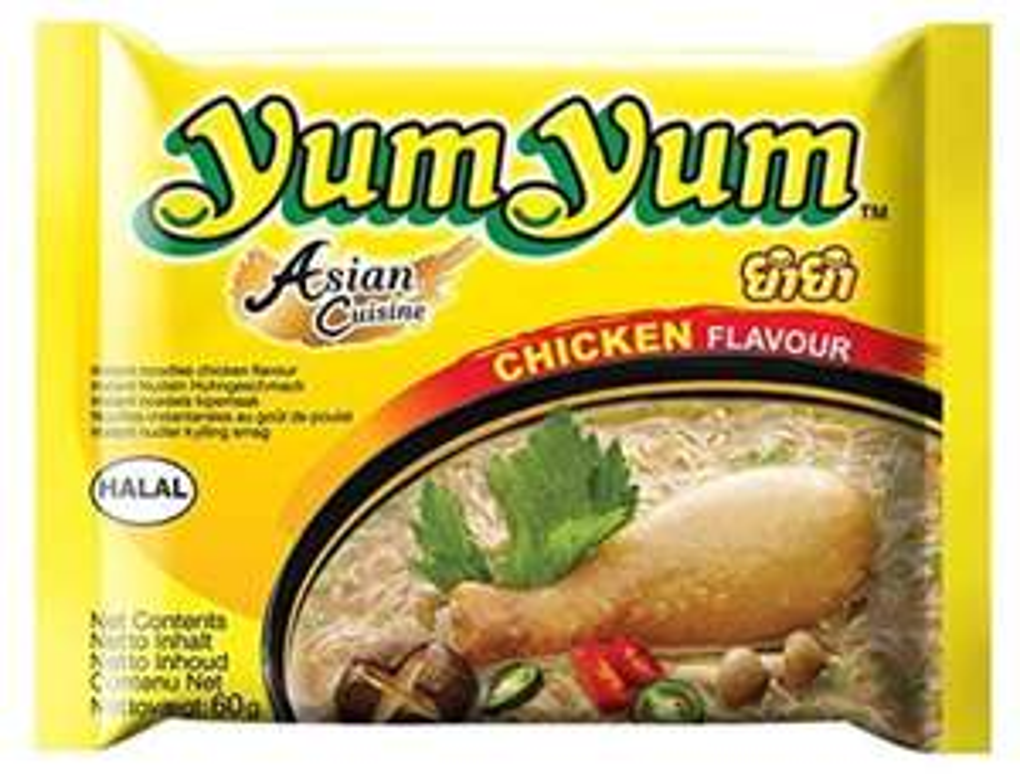 """[Mix Markt] Karton Yum-Yum """"Nudeln"""" - Geschmack Chicken für 8,88 (Kilo 4,94)"""