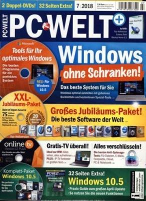 PC WELT: Drei Ausgaben für 22,95 EUR, Amazon-Gutschein 20 EUR (Kündigung notwendig)