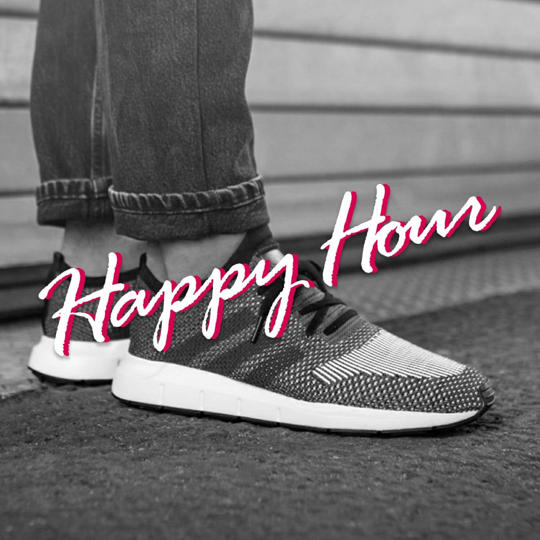 Happy Hour Sale - Adidas Swift Run PK Grey