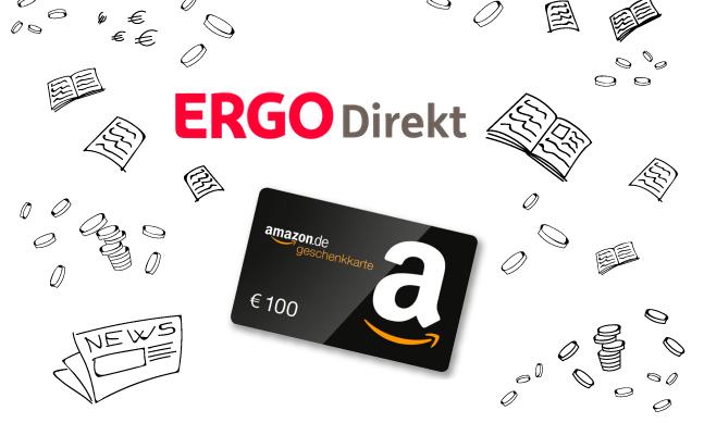 """""""Privatpatient beim Zahnarzt"""" mit 100€ Amazon Gutschein bei der ERGO Direkt ab 8,10€ / Monat"""
