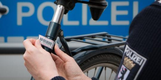 Fahrrad kostenlos von der Polizei kennzeichnen lassen [LOKAL/UPDATE]