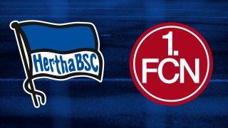 10.000 Tickets für das Spiel Hertha BSC - 1. FC Nürnberg