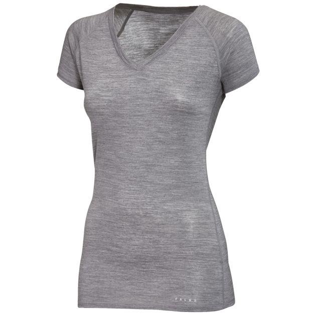 Falke Silk Wool Woll-Seiden-T-Shirt Damen bei Sport Schuster