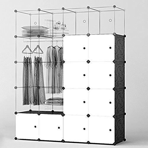 DIY Modularer Kleiderschrank / Aufbewahrungsschrank / Regal Boxen @amazon.de
