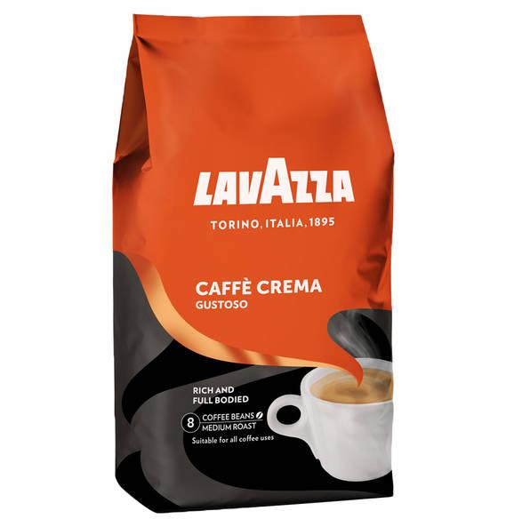 Lavazza Caffè Crema ganze Bohnen 1000g