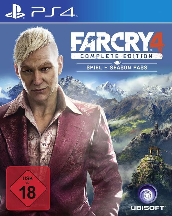 Far Cry 4 Complete Edition (PS4) für 22€ versandkostenfrei (Media Markt)