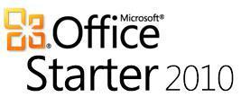 Microsoft Office Starter 2010 (Word & Excel 2010; Sprache: Englisch) als Freeware immernoch erhältlich