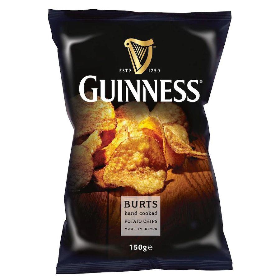 Bier&Chips: Guiness Kartoffelchips mit Guiness-Geschmack 150g